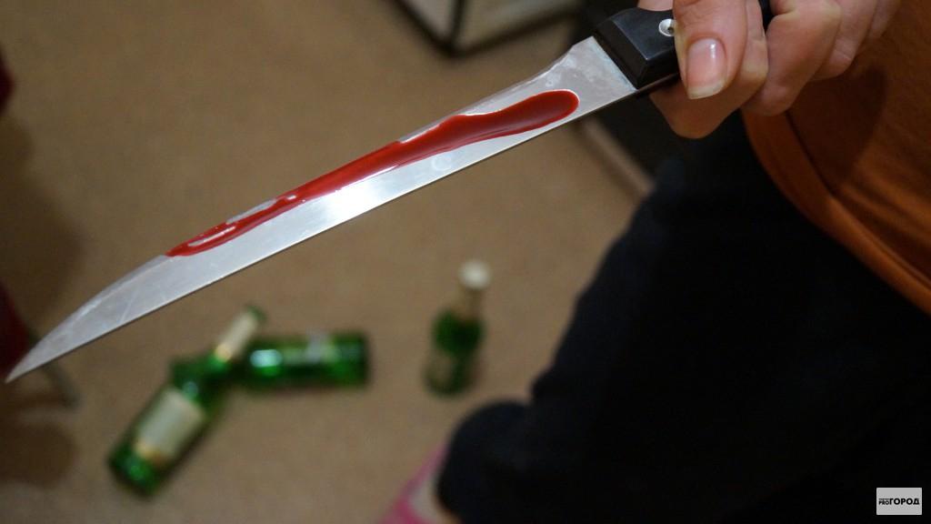 Чепчанка с ножом напала на пенсионера