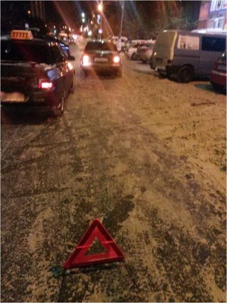 В Кирово-Чепецке на проспекте Мира не поделили дорогу  две иномарки