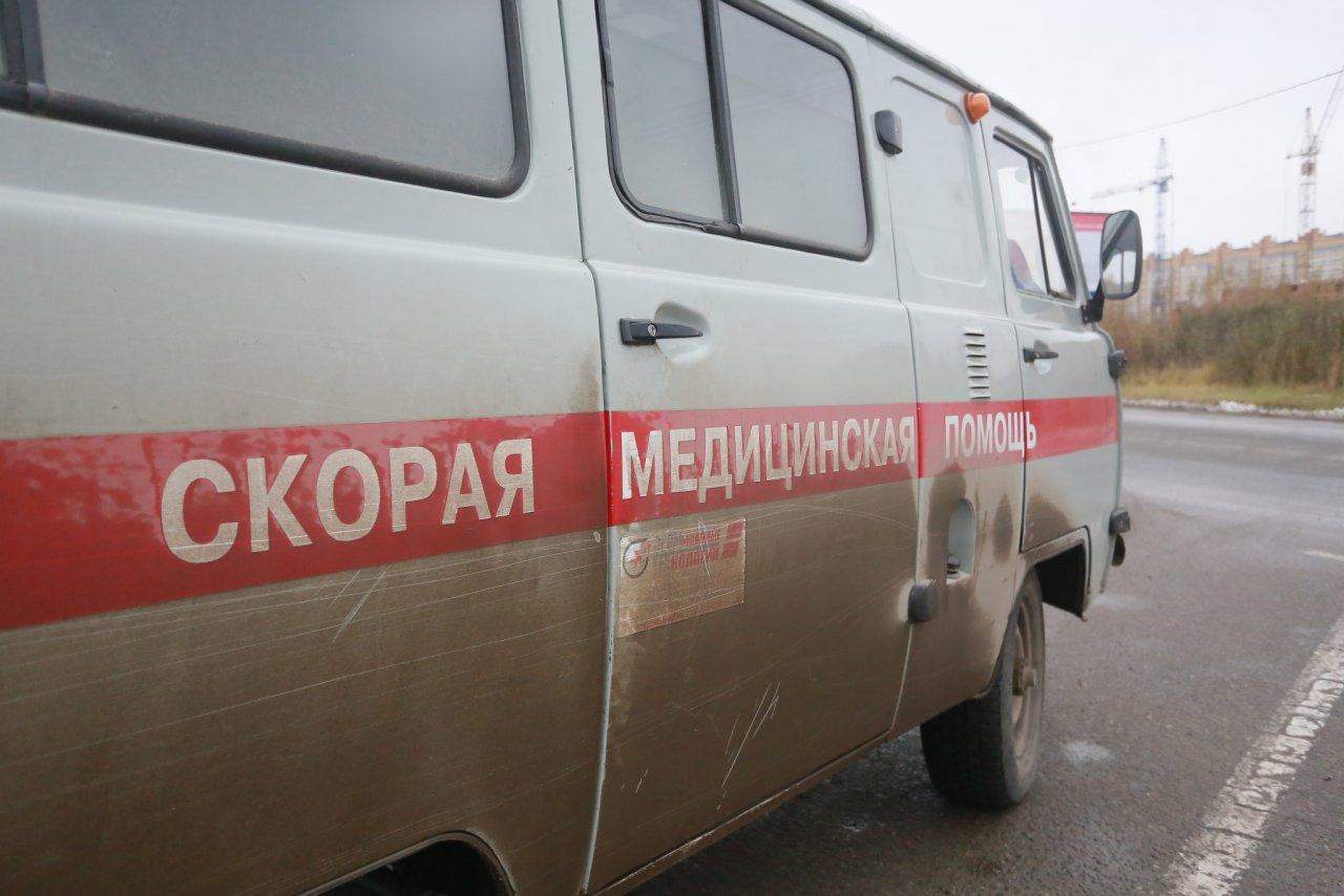 В Чепецком районе иномарка съехала в кювет: пострадал подросток