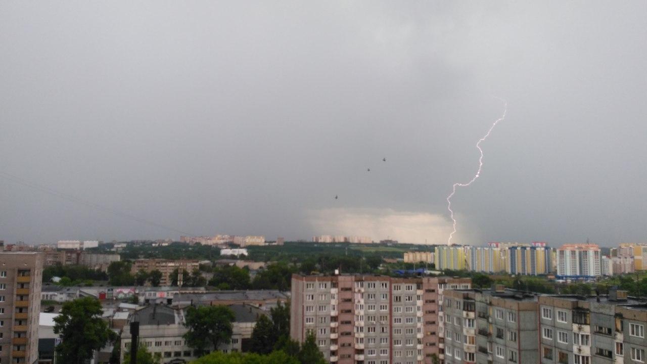 Синоптики сообщили о первой грозе в Кировской области