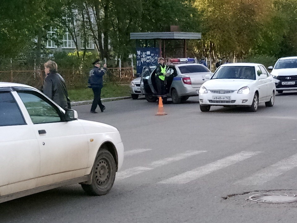 В Чепецке у ТЦ «Русь» иномарка сбила ребенка