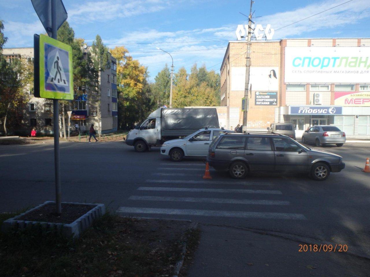 В Чепецке иномарка сбила ребенка: появились подробности ДТП