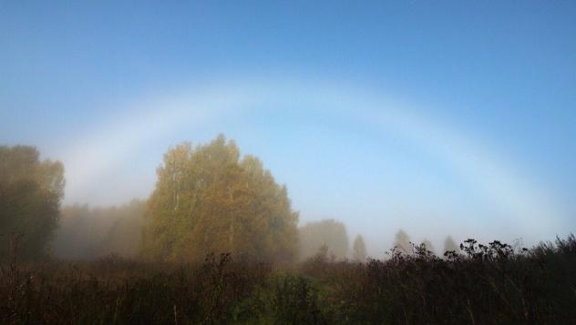В Кировской области жители запечатлели редкое природное явление
