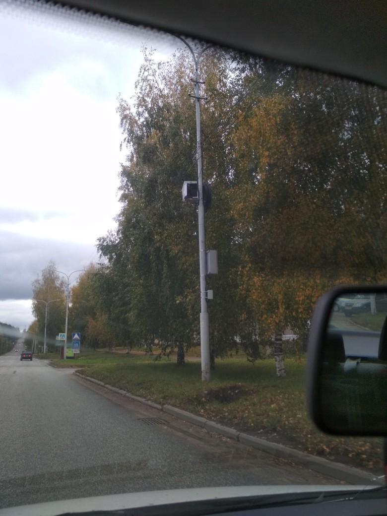 В Кирово-Чепецке поставили новые дорожные камеры