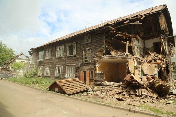 В Каринторфе собираются снести два многоквартирых дома