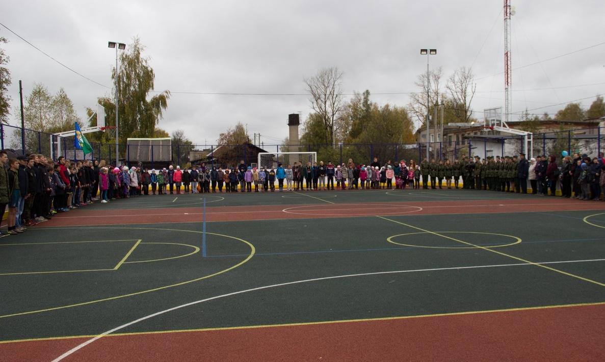 В Кирово-Чепецком районе появилась новая детская площадка за несколько миллионов