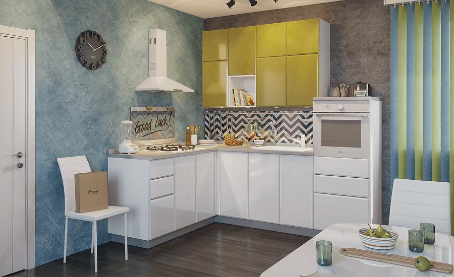Как правильно организовать пространство на маленькой кухне?