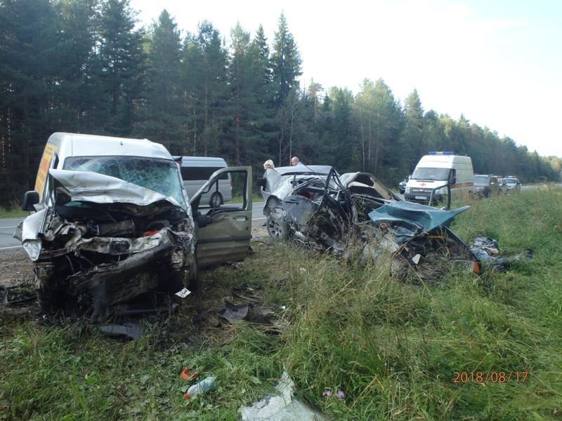 За год в Чепецком районе почти в два раза увеличилось число аварий со смертельным исходом
