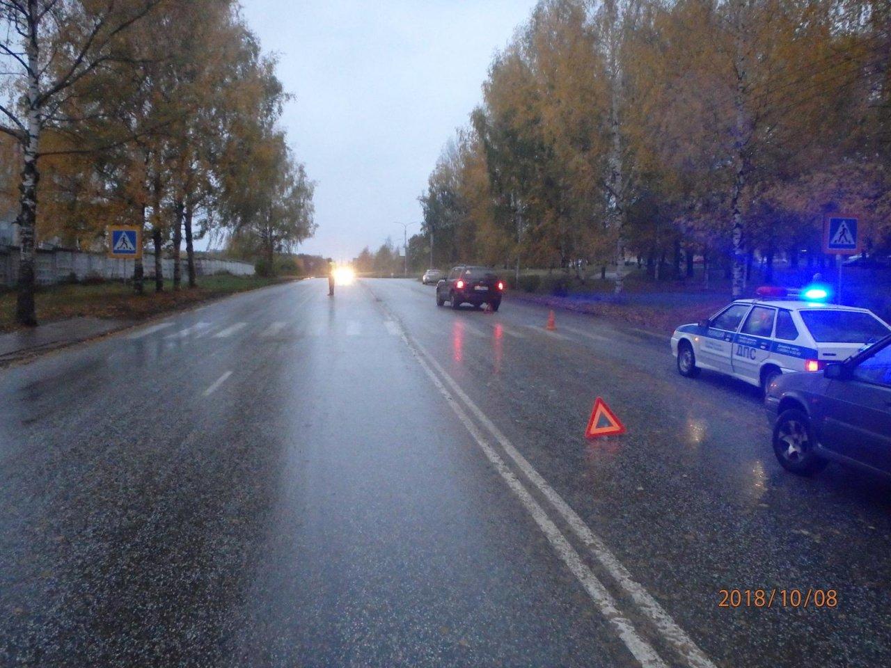 На Ленина иномарка сбила женщину с ребенком: появились подробности ДТП