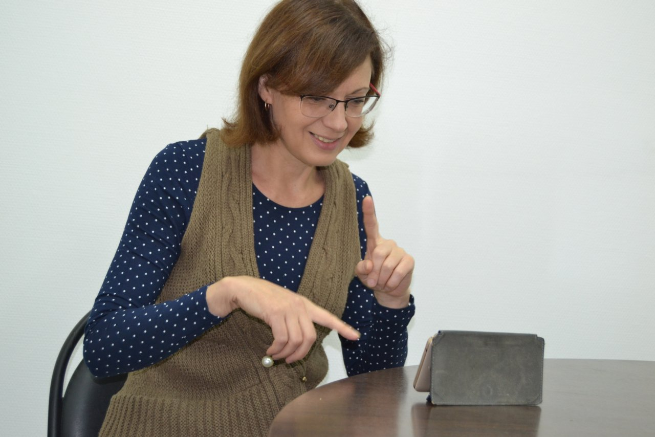 Сурдопереводчик: «Скайп — спасение для глухих людей»