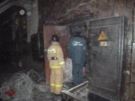 В Кирово-Чепецке загорелось производственное здание