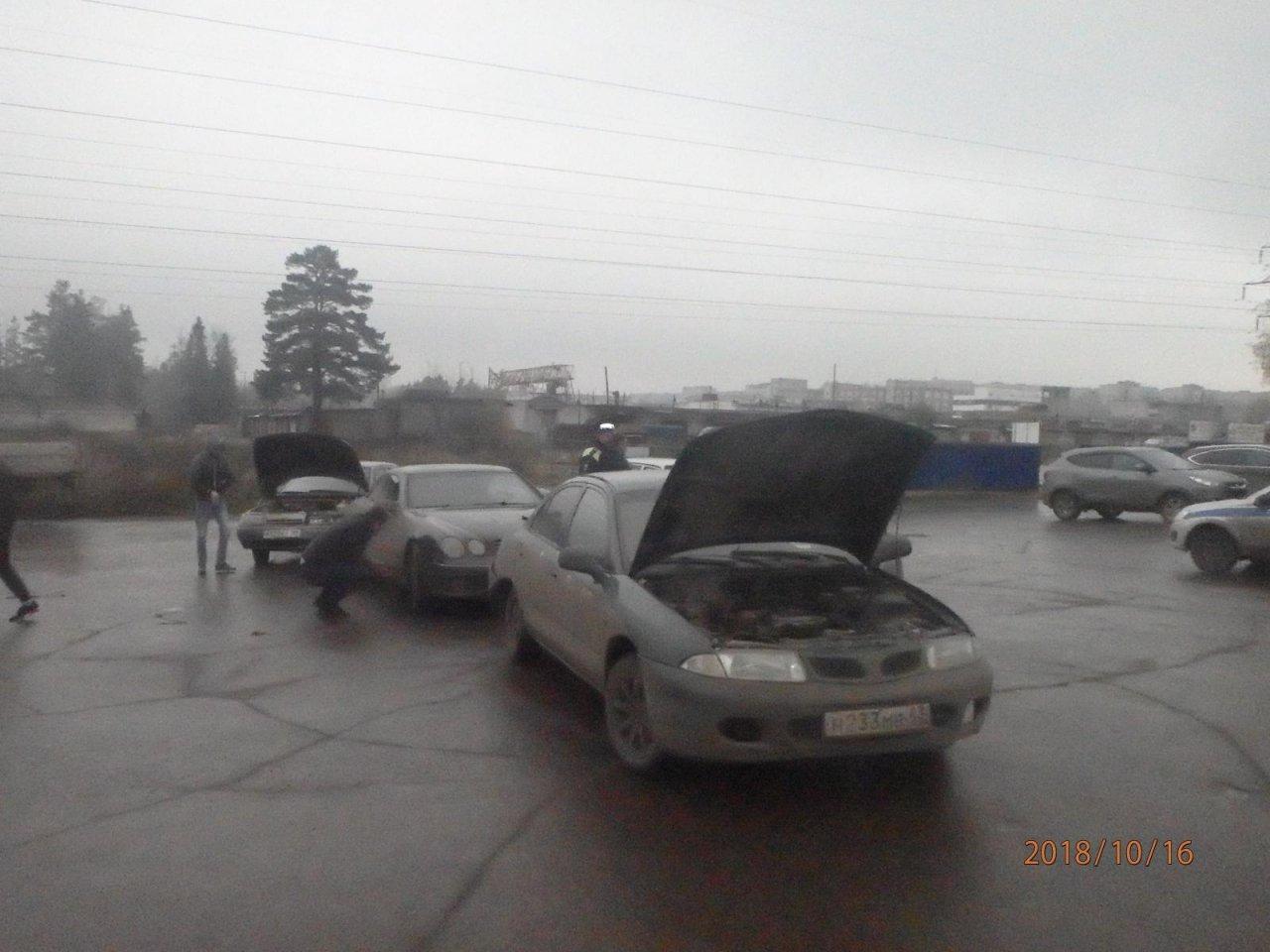 В Чепецком районе молодой водитель спровоцировал массовую аварию на трассе