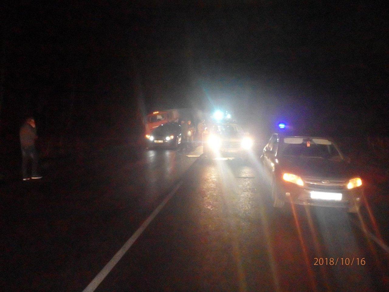 Причиной километровой пробки в Чепецком районе стала массовая авария