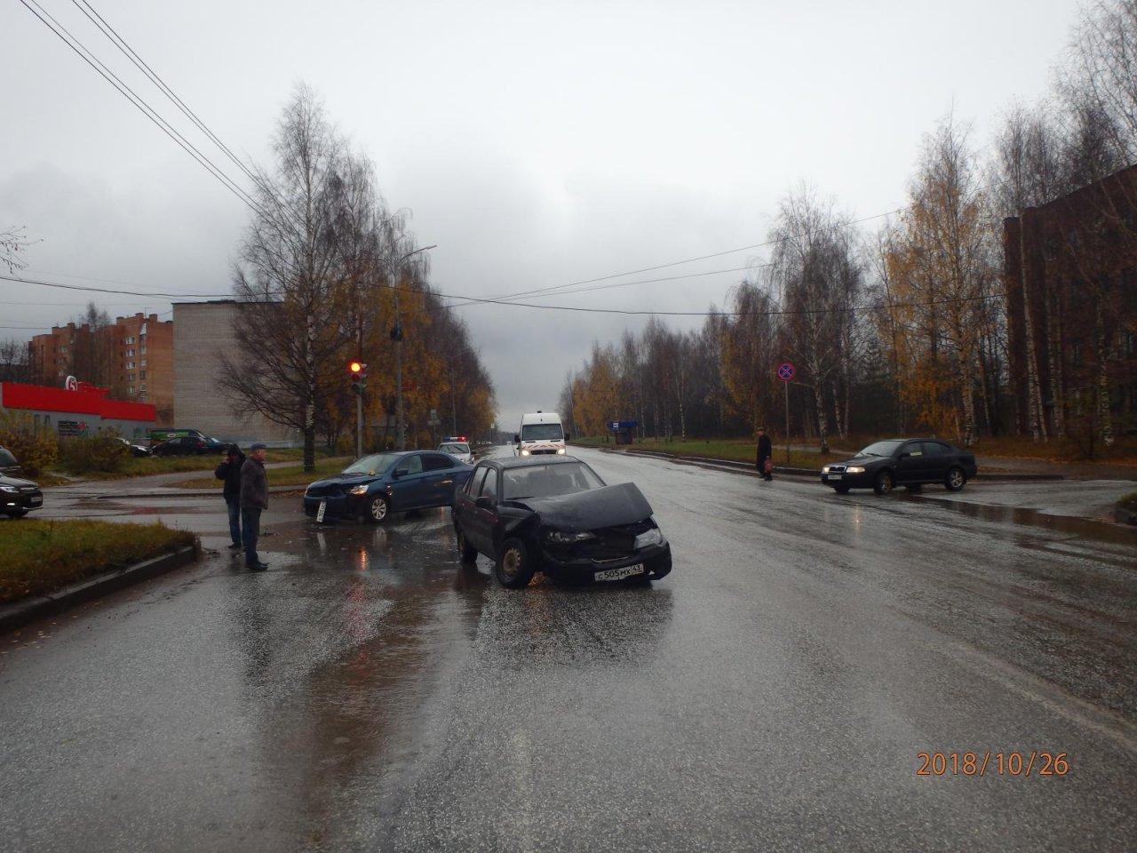 На «проклятом» перекрестке в Чепецке вновь произошло ДТП