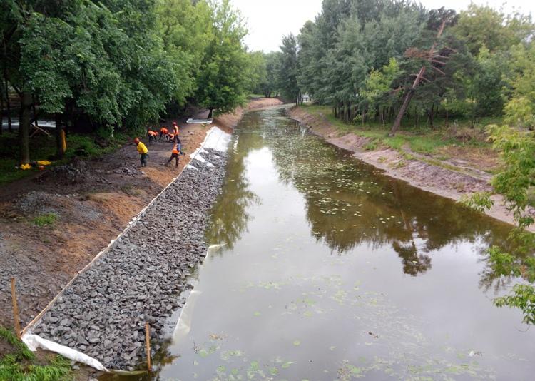 Для очистки реки в Перекопе выделили 5 миллионов рублей