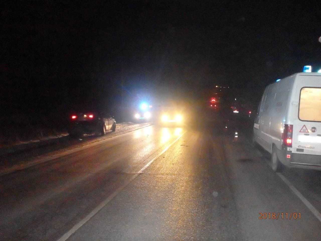 В Чепецком районе произошло массовое ДТП с участием грузовика
