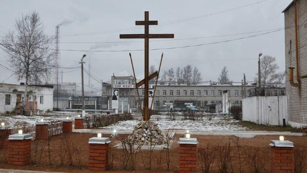 В Кирово-Чепецке осужденный смастерил поклонный крест