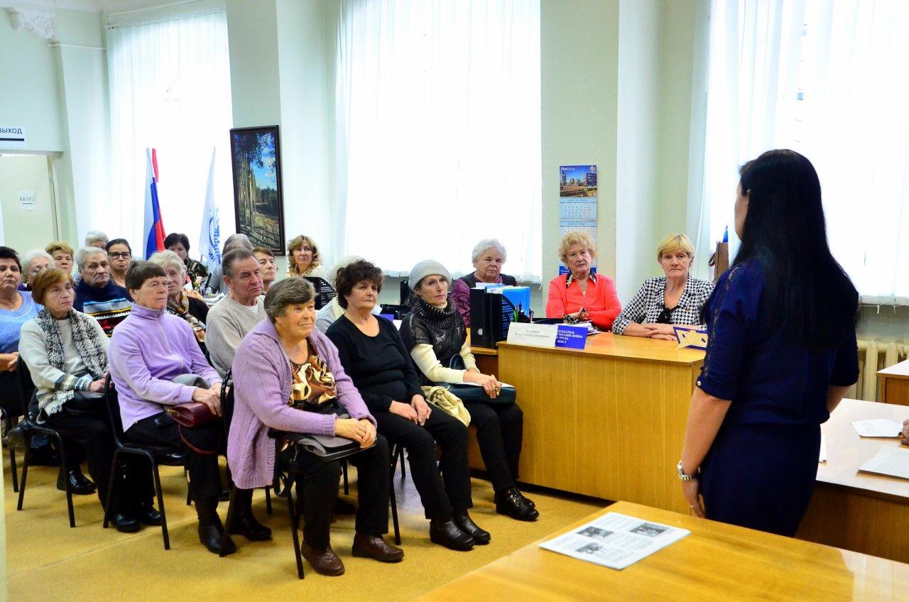 Совет ветеранов КЧХК поучаствовал в «Правовом марафоне для пенсионеров»