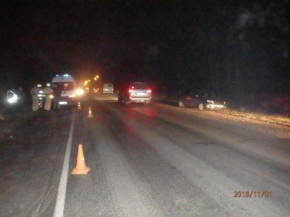 За сутки на дорогах Кирово-Чепецкого района пострадало четыре человека