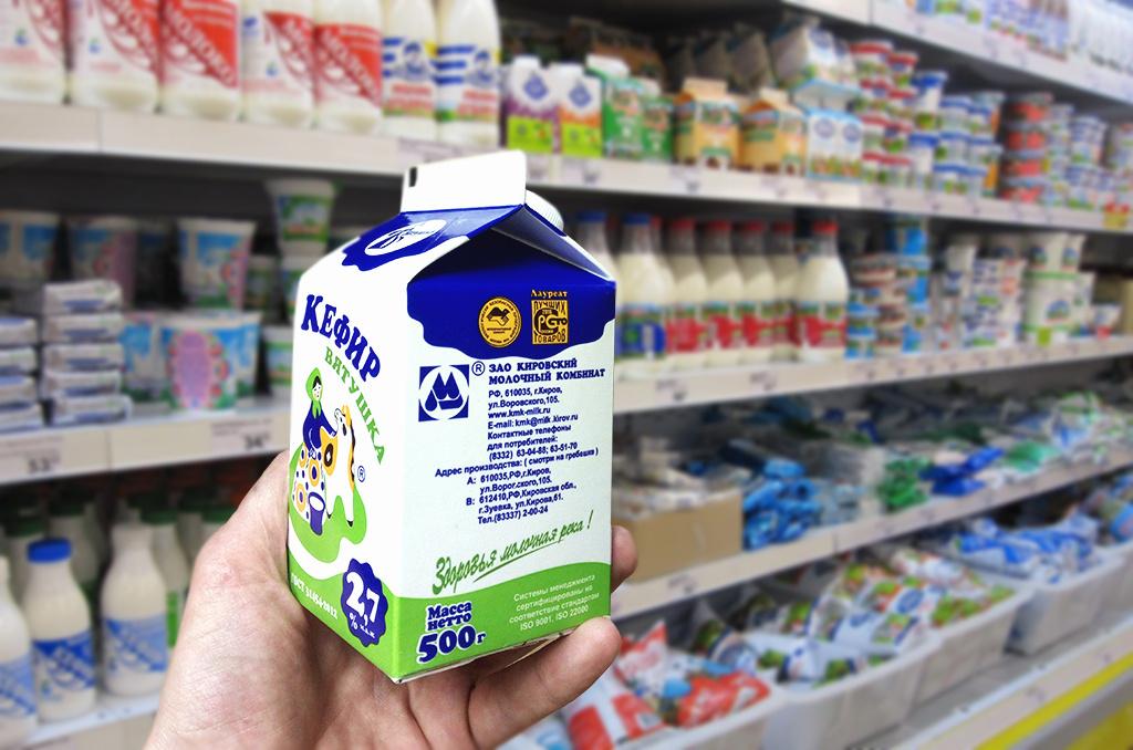Магазин «Вятушка»: научим покупать качественную «молочку»