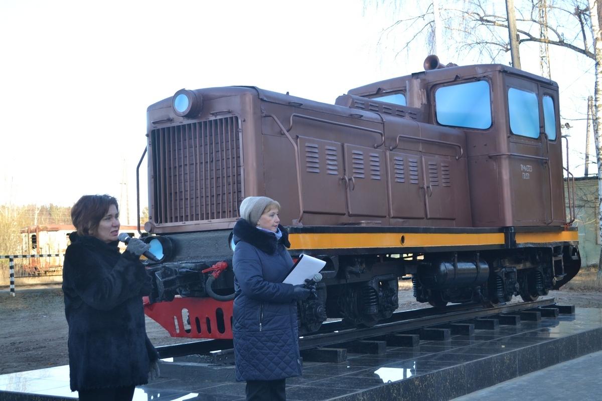 В Каринторфе открыли памятник труженикам тыла