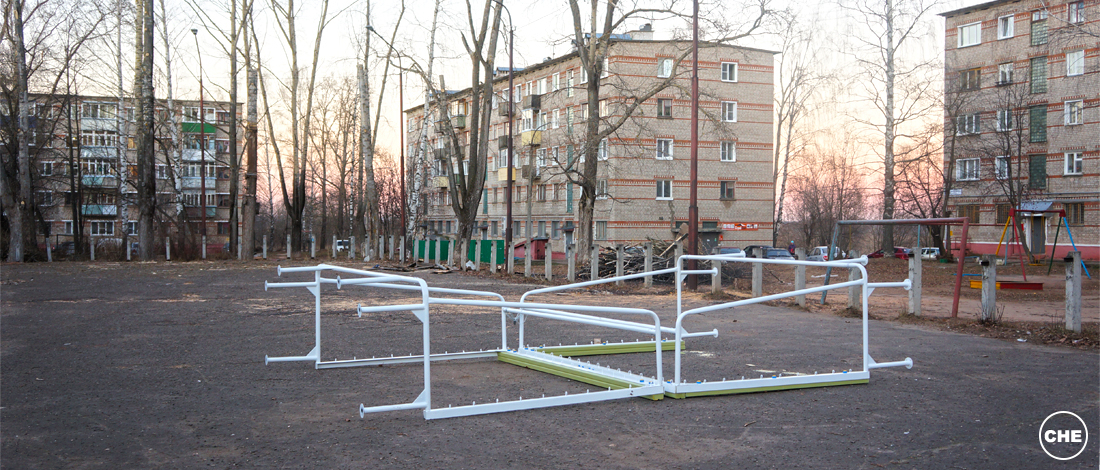 Площадки, которые не успели благоустроить в Чепецке до холодов