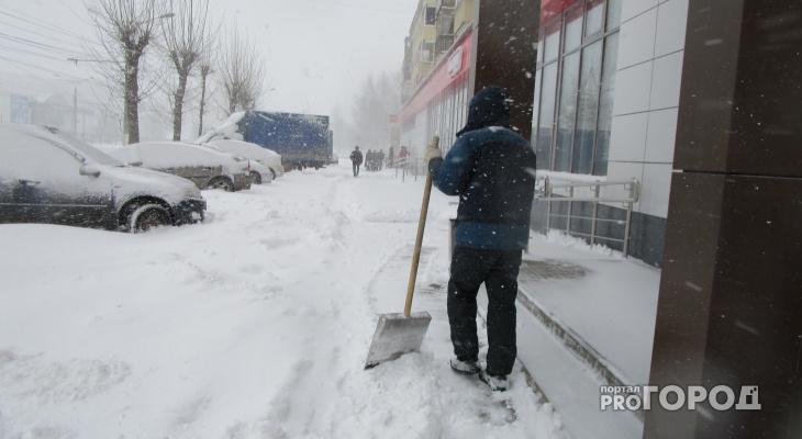 Последняя неделя осени в Чепецке  будет холодной и снежной