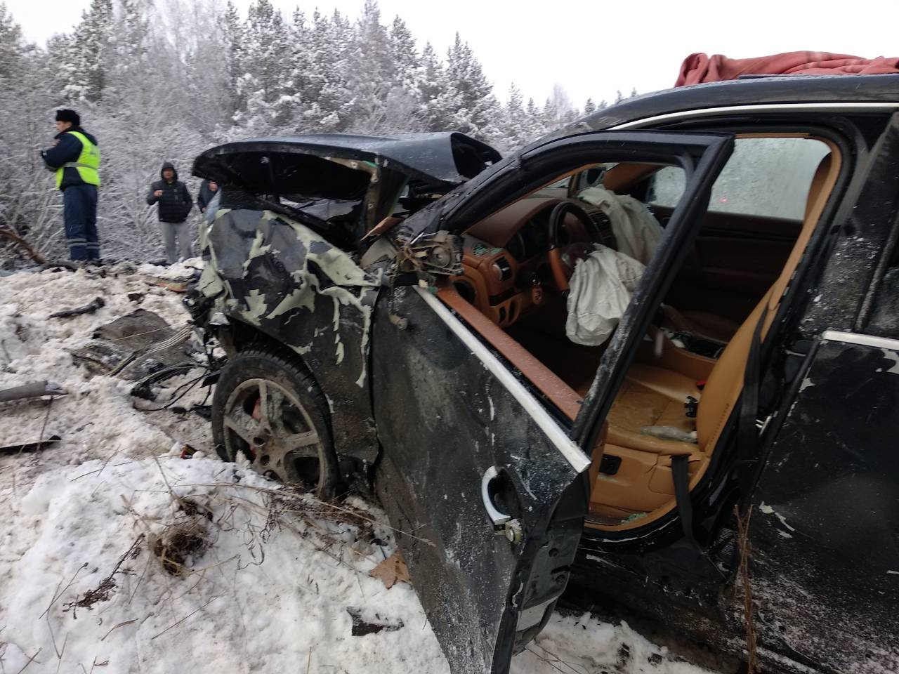 Количество погибших при столкновении Kiaи Porsche в Чепецком районе увеличилось