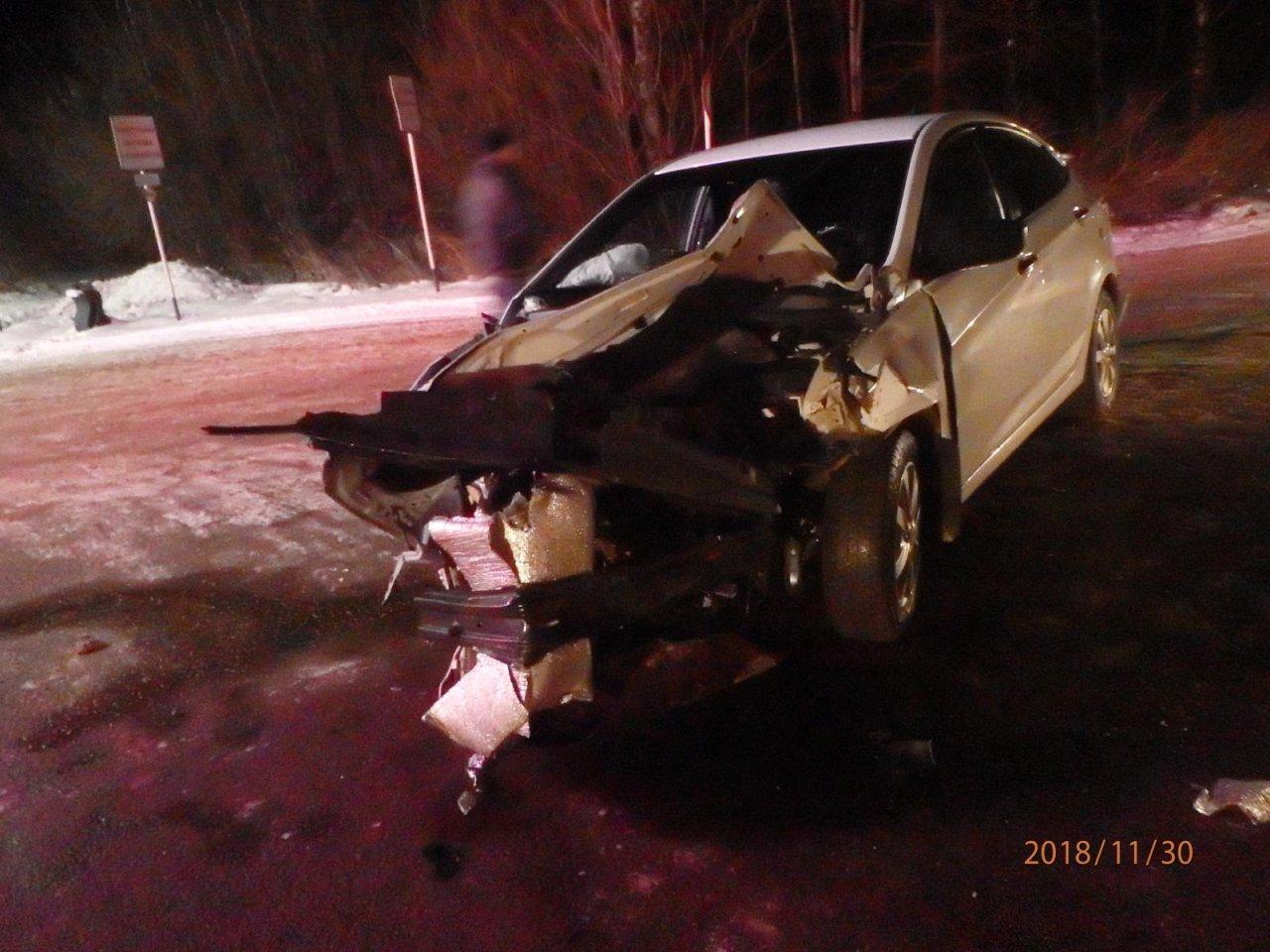 В Чепецке пьяный водитель иномарки спровоцировал массовое ДТП