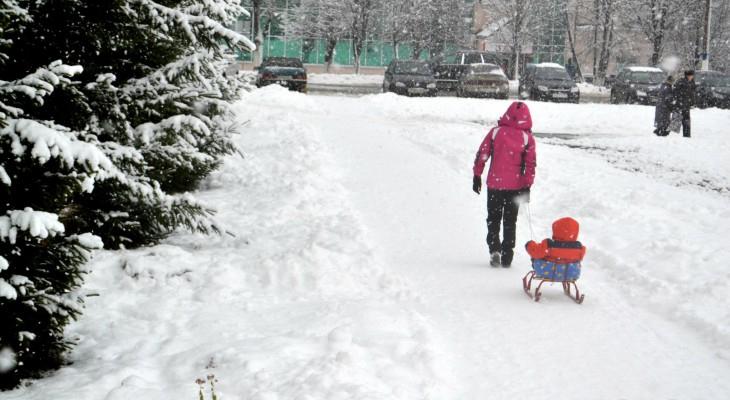 Чепчан ждет морозная рабочая неделя