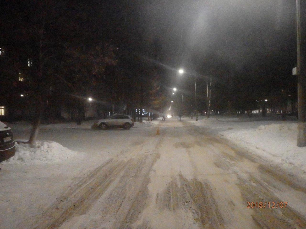 В Чепецке неизвестный водитель сбил ребенка и оставил на дороге
