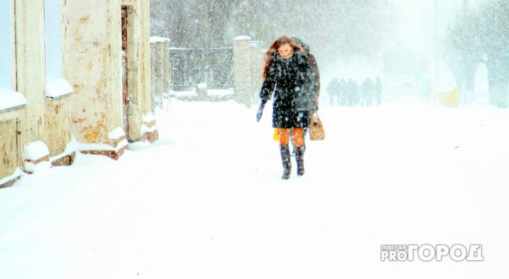 МЧС предупредили жителей  о гололеде в Чепецке