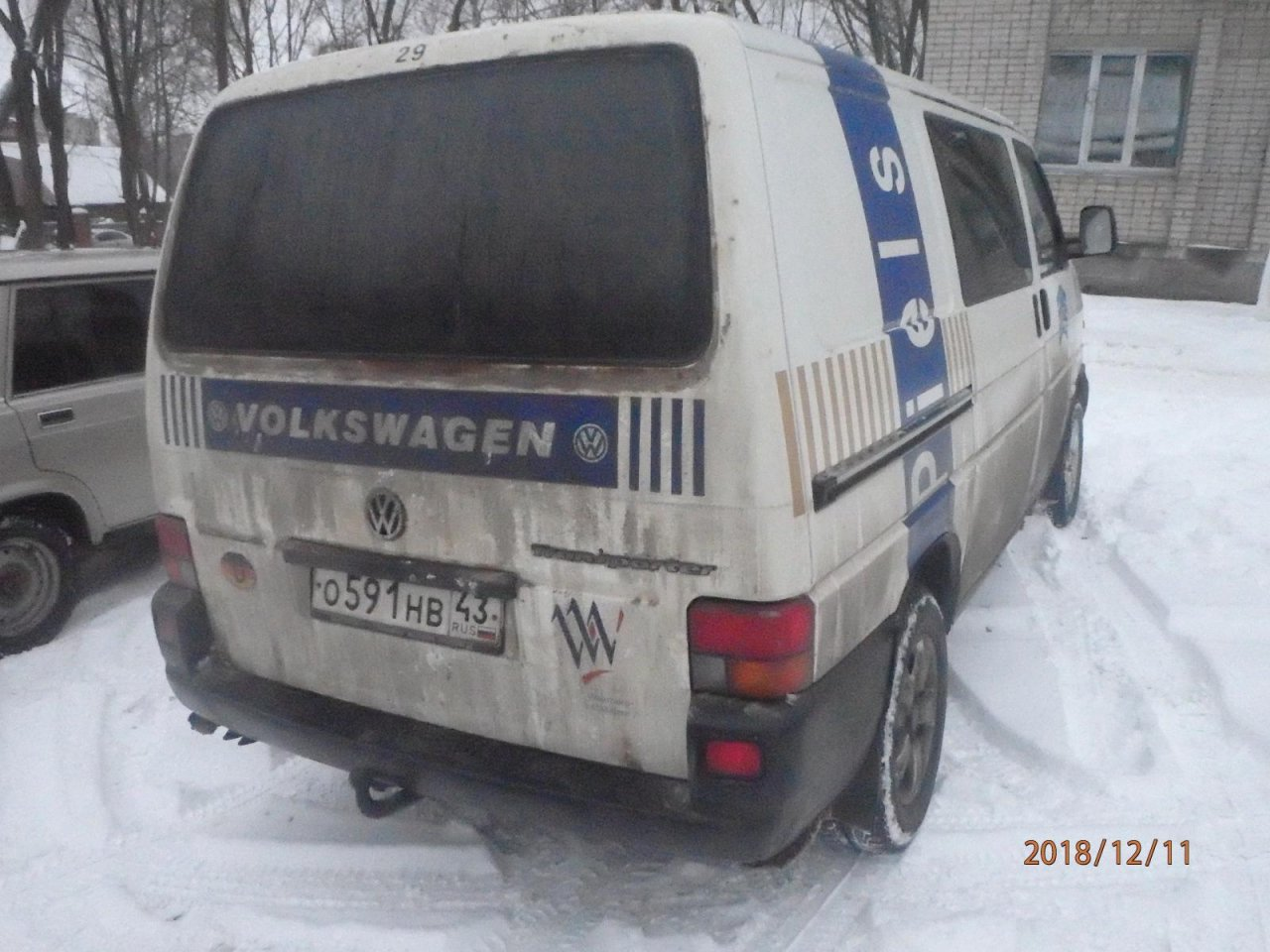 В Чепецке микроавтобус наехал на женщину при движении задним ходом
