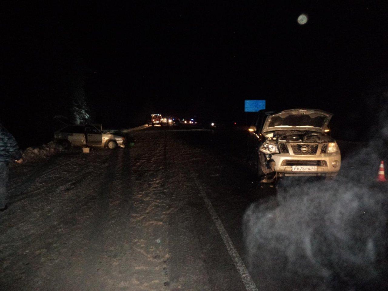 В Чепецком районе столкнулись три машины: есть погибшие