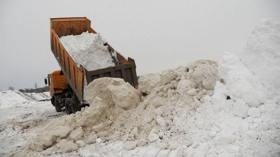 В Чепецке перенесли сроки вывоза снега из города