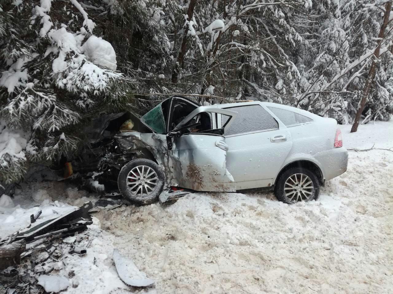 В ДТП в Кировской области  погибли два пенсионера