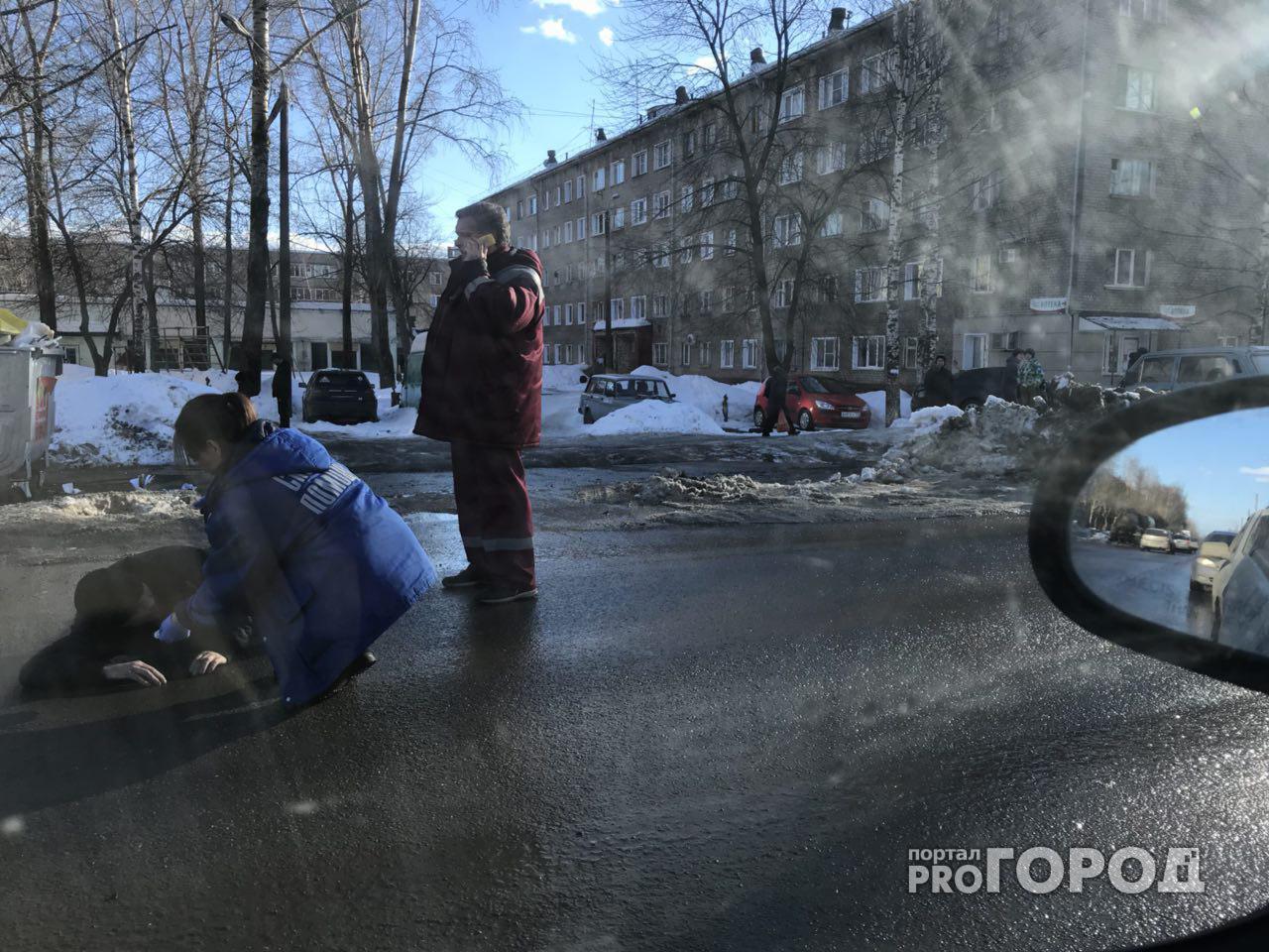 Очевидцы: «В Чепецке пьяный мужчина напал на пенсионера на глазах детей»