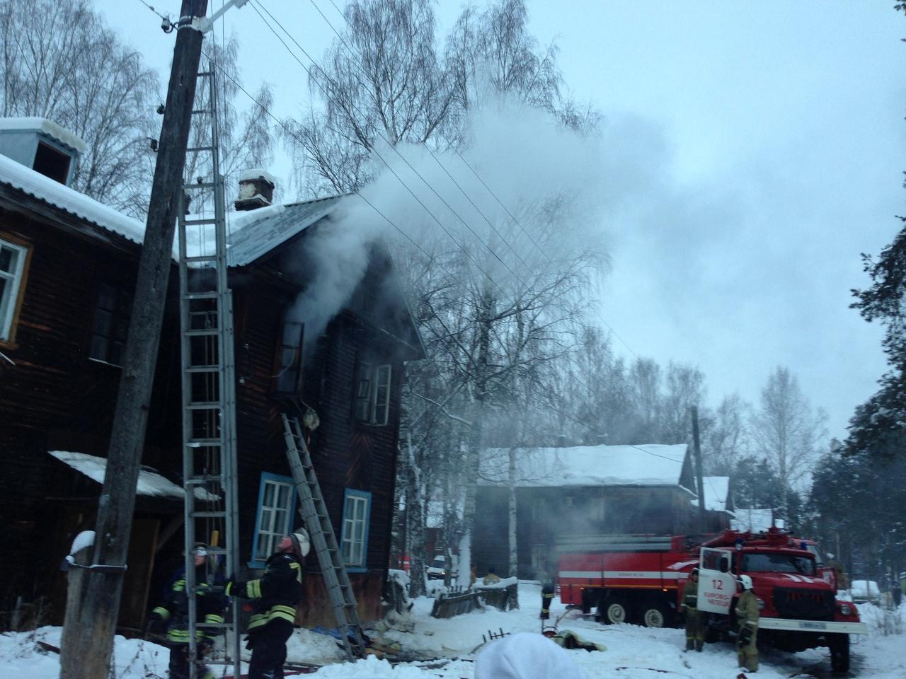 В Каринторфе горит многоквартирный дом: есть погибшие