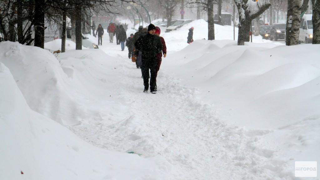Чепчан предупредили о сильнейших снегопадах, которые пройдут в конце рабочей недели
