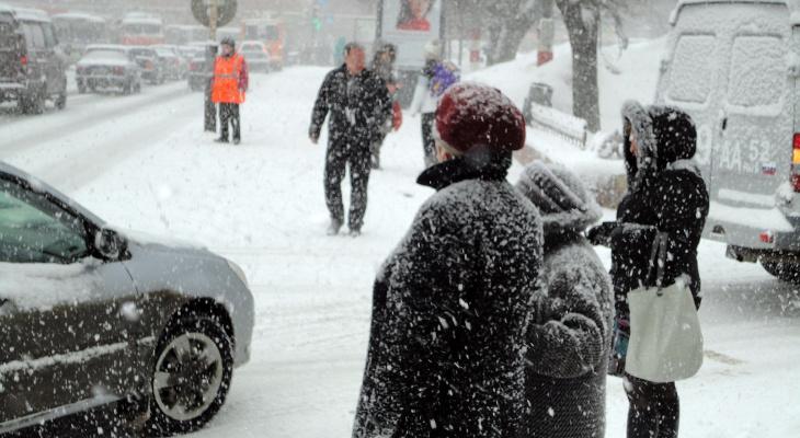 В ближайшие три дня в Кирово-Чепецке усилятся снегопады