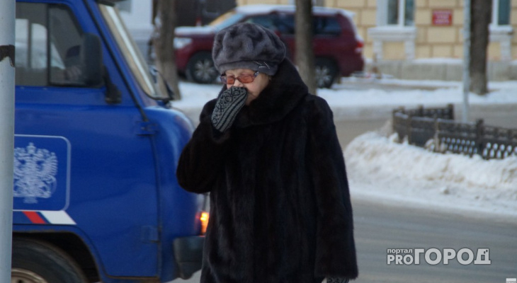 Рабочая неделя в Кирово-Чепецке  будет морозной