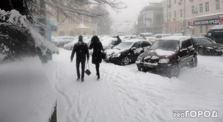 В выходные в Чепецке ожидаются снегопады, оттепель и холодные ночи
