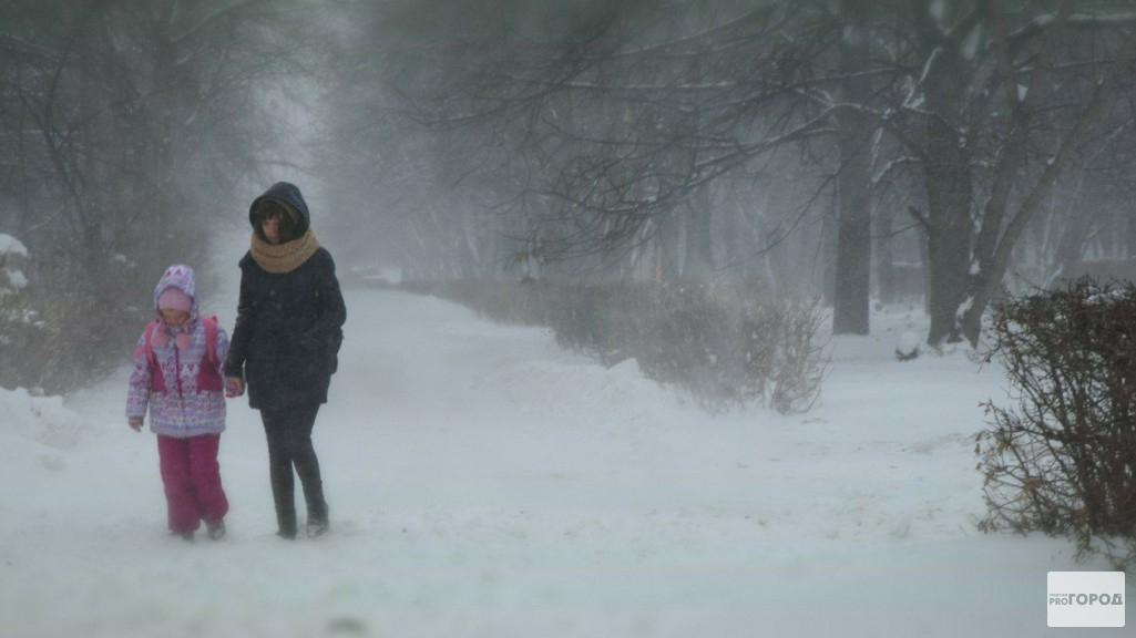 Чепчан предупредили о неблагоприятных погодных условиях в понедельник
