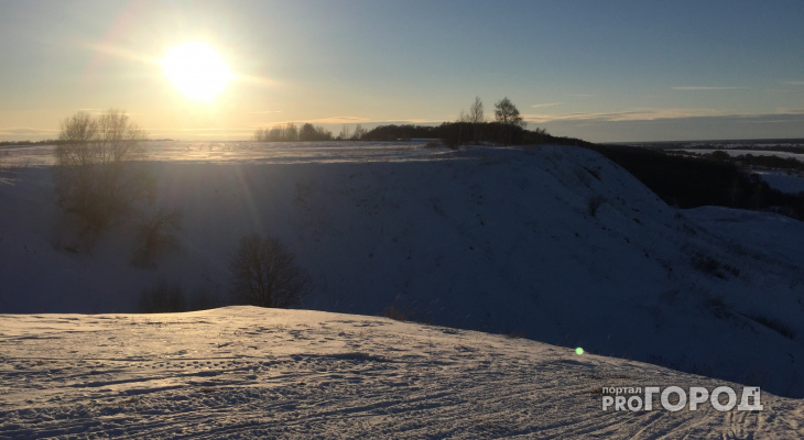 В выходные в Кирово-Чепецке похолодает до -14 градусов