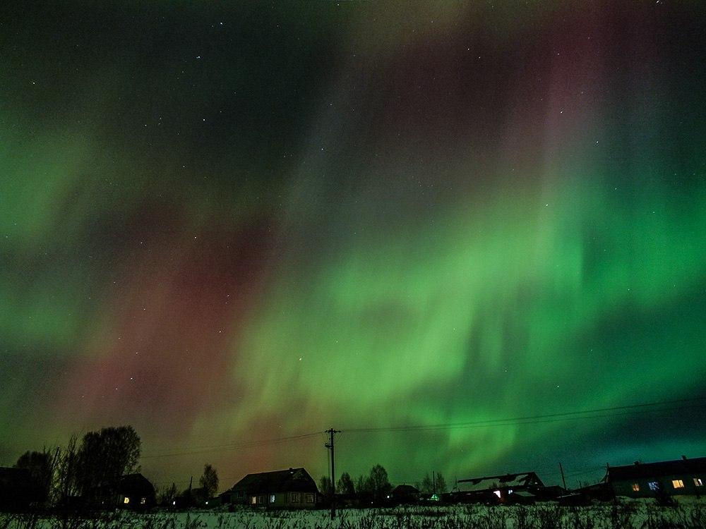 В Кировской области в марте ожидается полярное сияние