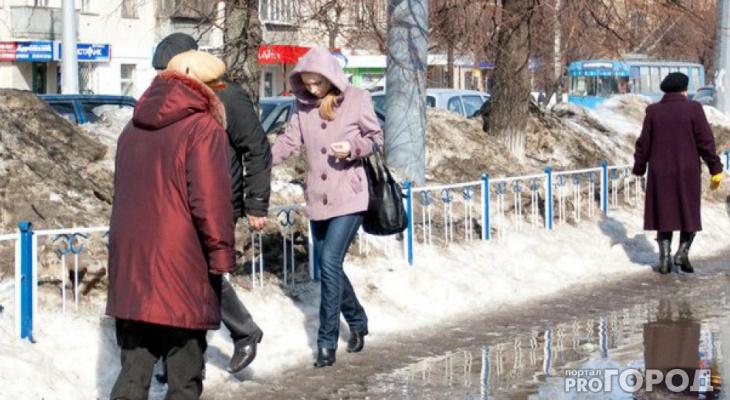 Какая погода ожидается на неделе с 18 по 24 марта в Кирово-Чепецке