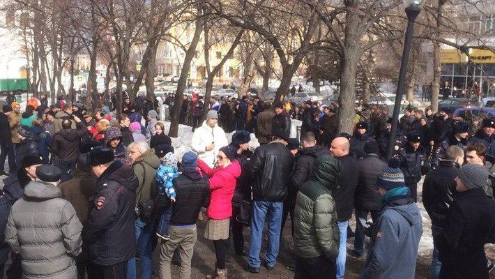 В Кирово-Чепецке могут запретить проводить митинги рядом со зданиями органов власти