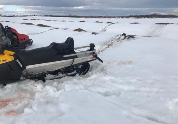 В Чепецке перевернулся снегоход: на месте работали спасатели
