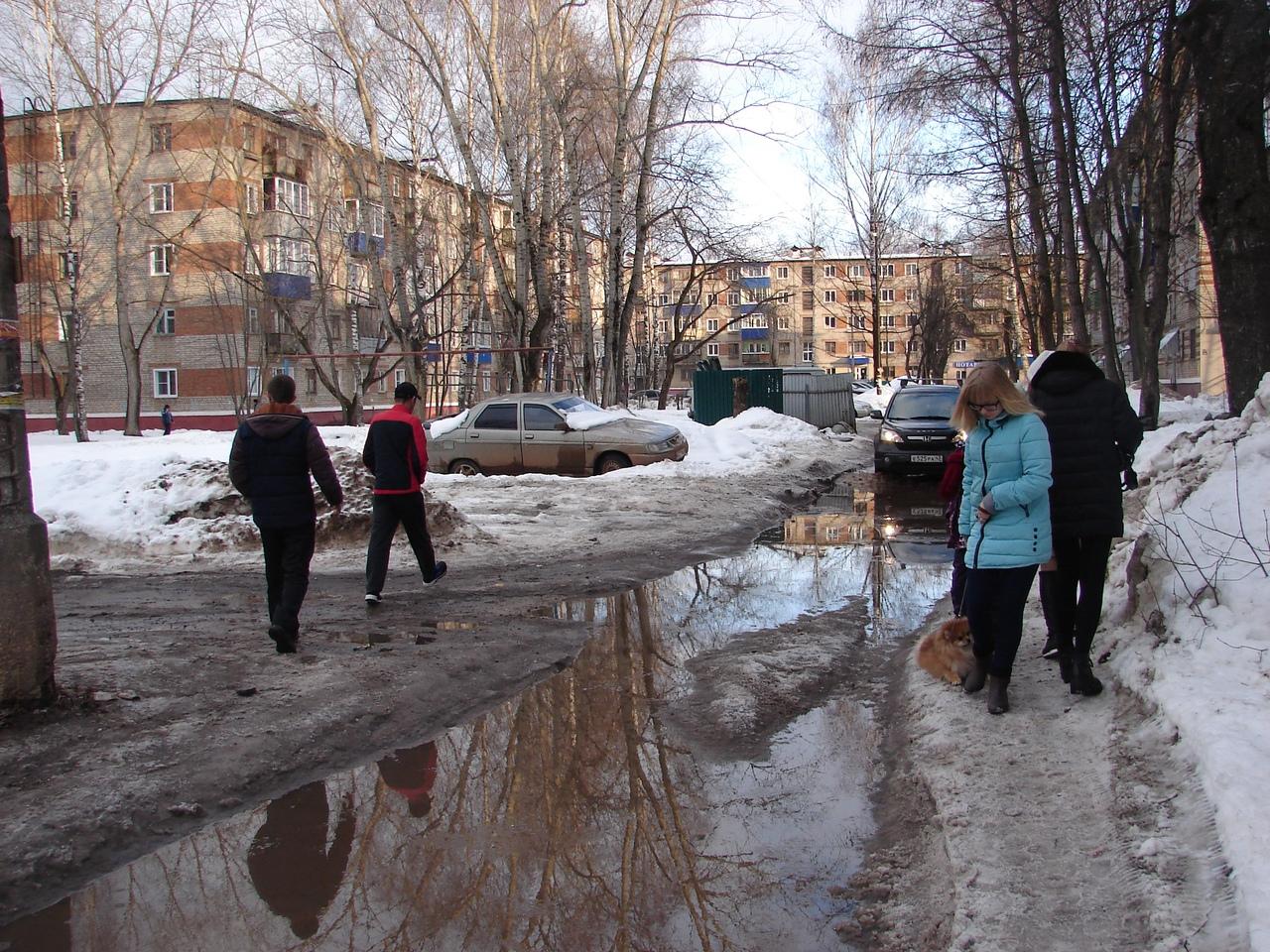 Из-за неработающих ливневок Кирово-Чепецк уходит под воду