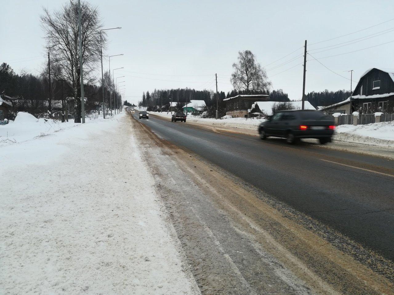 После 10 лет жалоб жители Глушихи добились строительства тротуаров